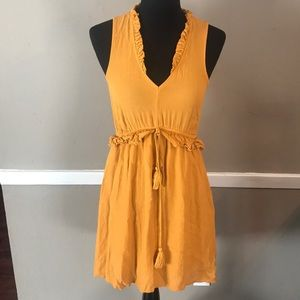 Yellow H & M Dress